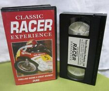 CLASSIC RACER EXPERIENCE David Roper autograph VHS motorcycle Superbike 1993