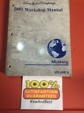 2001 FORD MUSTANG ORIGINAL FACTORY SERVICE MANUAL SHOP REPAIR VOLUME 2 ONLY