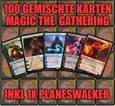 100 gemischte Magic the Gathering Karten Starterset inkl. 1 Mythic Planeswalker