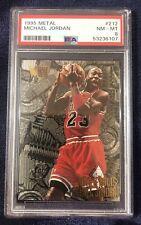 Michael Jordan 1995-96 Fleer Metal # 212 PSA 8 FREE SHIPPING!