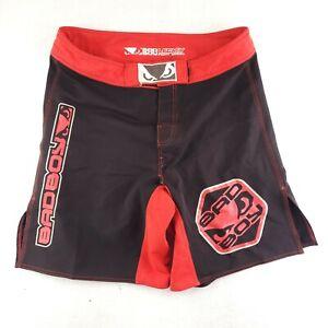 Bad Boy Legacy Fight Shorts Men's Size 36 Red Black BJJ UFC Combat Fighting