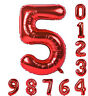 """42"""" INCH GOLD SILVER Foil Helium Letters Numbers Bunting Banner Party Balloon"""