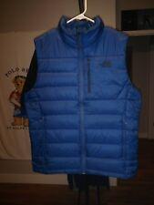 The North Face Aconcagua Vest 550 Fill Down Insulation Vest Mens Medium Blue