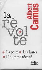 FOLIO / COFFRET ALBERT CAMUS - 3 VOLUMES - NEUF ! - LA REVOLTE