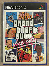 Grand Theft Auto Vice city ps2 playstation 2 game