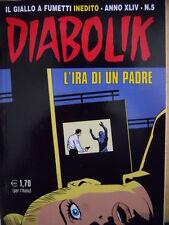 fumetto DIABOLIK ANNO XLIV numero 5