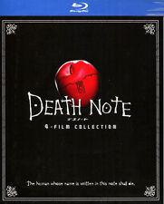 Death Note 1- 4 Boxset (Blu-Ray) Japanese Movie English Sub