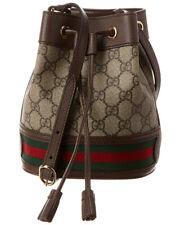 Gucci Ophidia Mini Gg Supreme Canvas & Leather Bucket Bag Women's