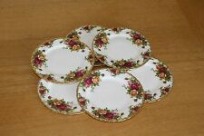 6 Royal Albert Old Country Roses Lato Piastre 6,5 INS 16 cm