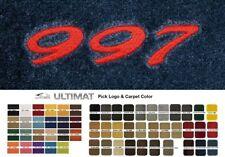Lloyd Mats Porsche 911 (997) Custom Embroidered 997 Floor Mats (2005-2012)