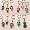 Harry Potter Hermione Dumbledore inspired rubber keyring keychain gift 660