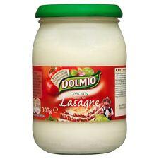 Dolmio Creamy White Lasagne Sauce - 300g - Pack of 2(300g x 2 Jars)(10.58 oz x2)