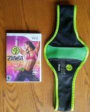 Wii ZUMBA Fitness Join the Party Game with Fitness Belt Included 2010