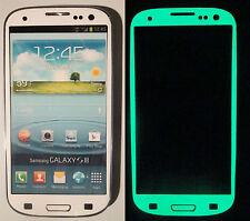 Samsung Galaxy S3 Green Glow in the dark Decal Skin sticker