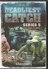 DEADLIEST CATCH SERIES 5 (FIVE) WELCOME TO HELL - 5 DVD BOX SET