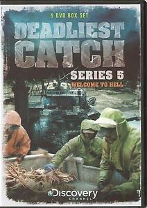 DEADLIEST CATCH SERIES 5 (FIVE) WELCOME TO HELL - 5 DVD BOX SET