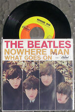 Beatles 45 Nowhere Man with PIC SLEEVE