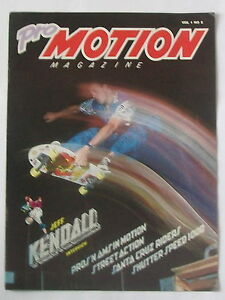 SANTA CRUZ KENDALL ROSKOPP HOSOI SKATEBOARD PRO MOTION MAGAZINE 2 JIM PHILLIPS