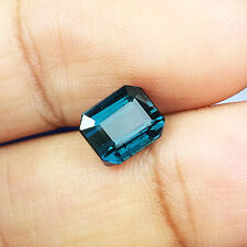 1.76cts Amazing Luster Natural Indicolite  Tourmaline Loose Gemstone