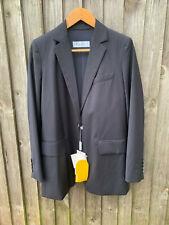 Max Mara LASER single button wool suit  jacket blazel in navy Uk 12 It 44 usa 10