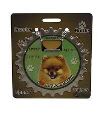 Pomeranian dog coaster magnet bottle opener Bottle Ninjas magnetic