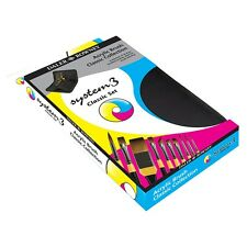 Daler Rowney sistema 3 Classic cepillo de artista Set con cremallera Funda 10 Pinceles