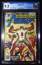 Avengers #176 (1978) CGC 9.2...Korvak, Capt. Marvel, Starhawk & Ms. Marvel app.