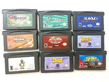 Lot of 9 Nintendo GBA Gameboy Advance Games Tested Working!