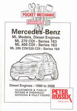Mercedes ML 163 /& 164 Workshop Manual mblpwh