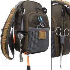 Waterproof Multi-Purpose Fly Fishing Sling Bag Shoulder Pack Storage premium