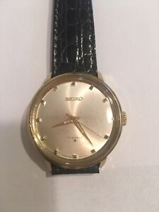 Vintage Seiko 17Jewels Manual Wind Wristwatch