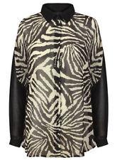 Camisa de mujer de manga larga talla XL