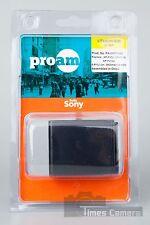 3x ProAm PA-NPFV100 NP-FV100 Battery Fr Sony HDR H&P Camcorder Video Camera