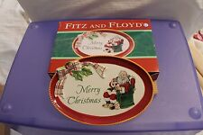 Fitz and Floyd - Dear Santa Sentiment Tray