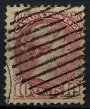 Canada 1870-90, 10c Queen Victoria QV Used #D45093
