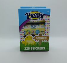 Peeps 225 Sugar Scented Stickers Easter Basket Stuffer Scrapbook Decorations