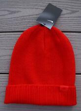 NWT NIKE Honeycomb Sportswear Unisex Cuffed Knit Beanie Hat-OSFM @$28 RED ORANGE