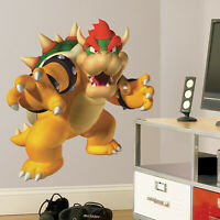 SUPER MARIO BROS BOWSER X LARGE GIANT VINYL WALL STICKER DECALS CHILDREN 43