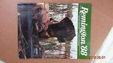1988 Remington Firearms Ammunition Clothing & Accessories Catalog