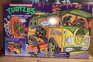 TMNT Original Party Wagon Van Playmates 2021 Teenage Mutant Ninja Turtles NISB