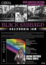 BLACK SABBATH - CALIFORNIA JAM - LTD Purple vinyl - New & sealed  vinyl lp
