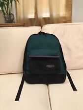 Vintage Outdoor Products USA Leather Bottom Backpack W/ Seamlock Shoulder Strap