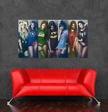 "Avengers gf large sexy girl poster wall sticker walls decor 105x60cm 41.33""x26"""