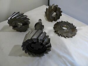 Used ISO 40 Arbor with Strasmann HSS Face Milling Cutters