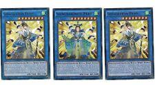3 x Shinobaron Pfau  RATE-DE038, Rare, 1. Auflage, Mint, Playset, Deutsch