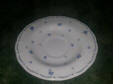 Provincial Designs by Nikko Blue Red Flowers Saucer Plate 6.5""
