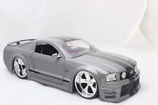 JADA 2006 FORD MUSTANG GT GRAY 1/24 DIECAST CAR NEW WITHOUT BOX