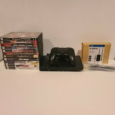 Sony Playstation PS2 Slim System Console Bundle SCPH-79001 1 controller 12 games