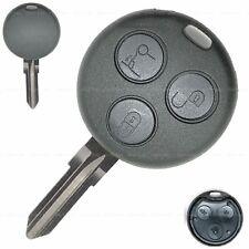 Schlüssel Ersatz Gehäuse passend für Smart Fortwo 450 452 Citycoupe Roadster