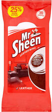 Mr Sheen Leather Wipes 1 x 30s